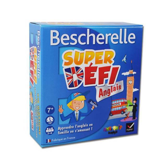 Bescherelle Super Défi Anglais - Jeu de 110 cartes