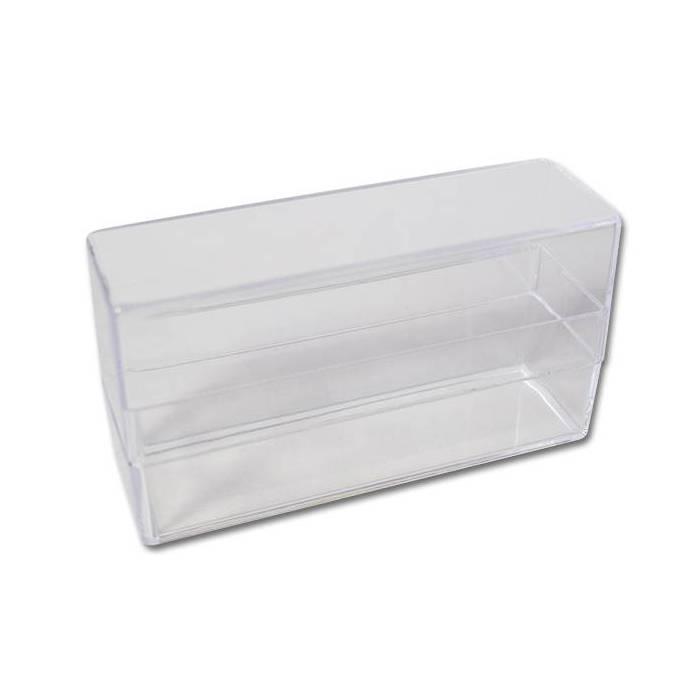 Boîte de rangement en plastique pour un jeu de Tarot
