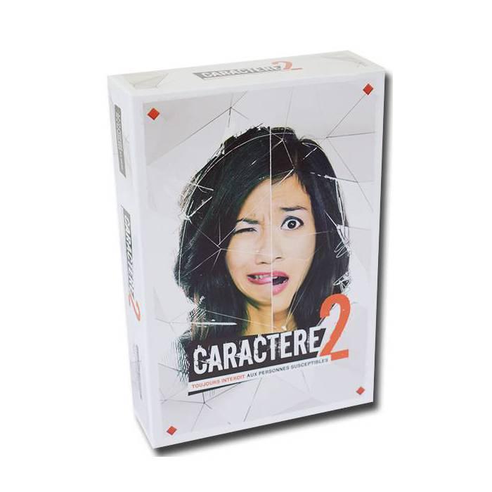 Caractère 2 - Jeu de 396 cartes