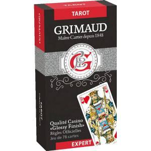 Grimaud Expert Tarot – jeu de 78 cartes cartonnées plastifiées