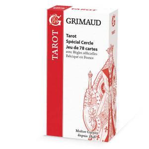 Grimaud Origine Tarot Spécial cercles – jeu de 78 cartes cartonnées plastifiées