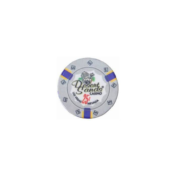 Jeton de poker DESERT SANDS – en céramique – 10 g - en vente à l'unité