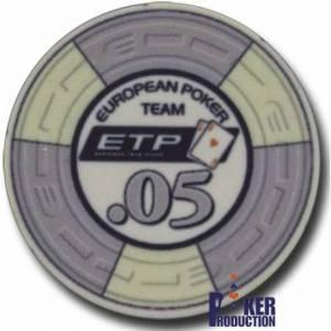 Jeton de poker ETP – en céramique – 10g - en vente à l'unité