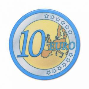 Jeton de poker EURO – en céramique – 10g – en vente à l'unité
