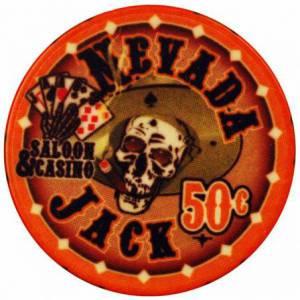 Jeton de poker NEVADA JACK – en céramique – 10 g - en vente à l'unité