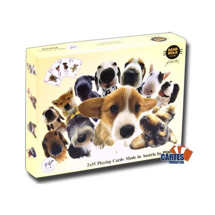 Hanadeka Dogs -2 jeux de 52 cartes