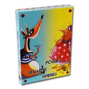 Poules Renards Vipères - Jeu de 51 cartes