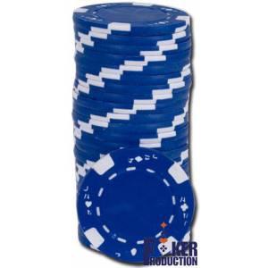 Jetons de poker JAA - en ABS avec insert métallique – rouleau de 25 jetons - 11