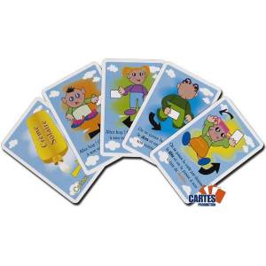 3... Soleil - Jeu de 55 cartes