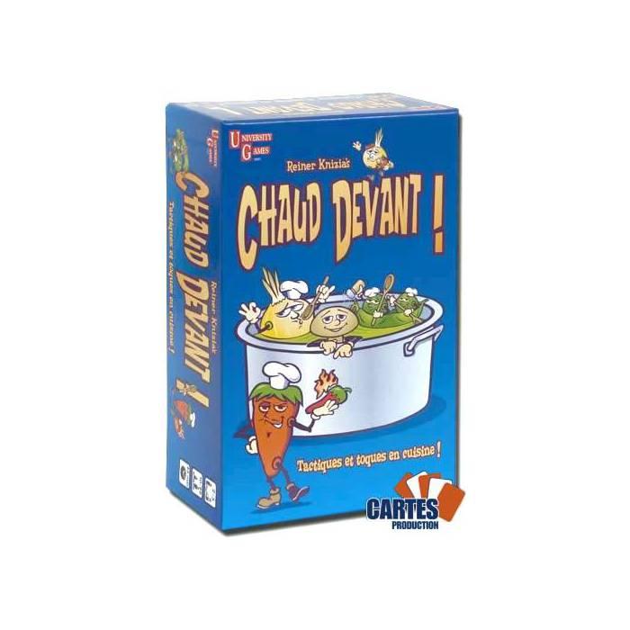 Chaud Devant ! - jeu de 77 cartes cartonnées