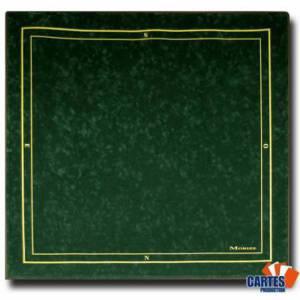 Tapis de jeu Galonné Morize en suédine - 75 x 75 cm – avec grip antidérapant