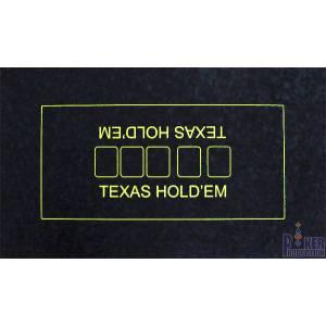Tapis de Poker en suédine – 70x120 cm – glisse parfaite - avec grip antidérapant – marquage du board
