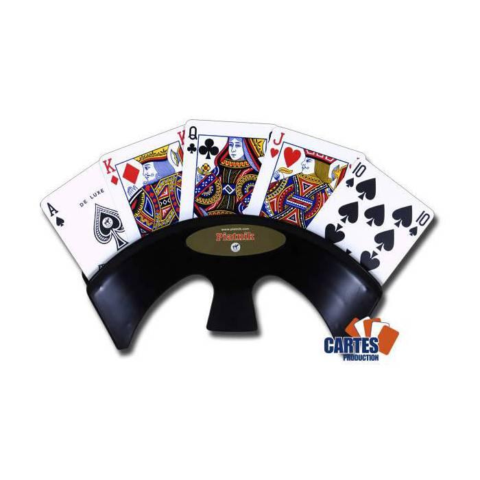 Porte-Cartes Piatnik – maintient jusqu'à 25 cartes – en pvc