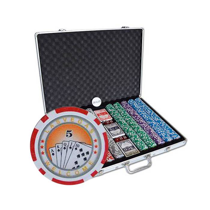 Mallette de 1000 jetons de poker ROYAL FLUSH – en ABS