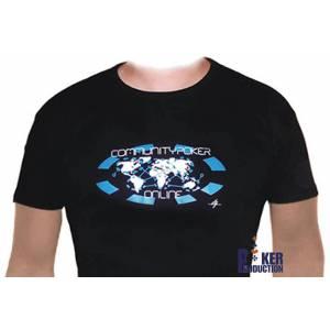 T-Shirt Noir : COMMUNITY