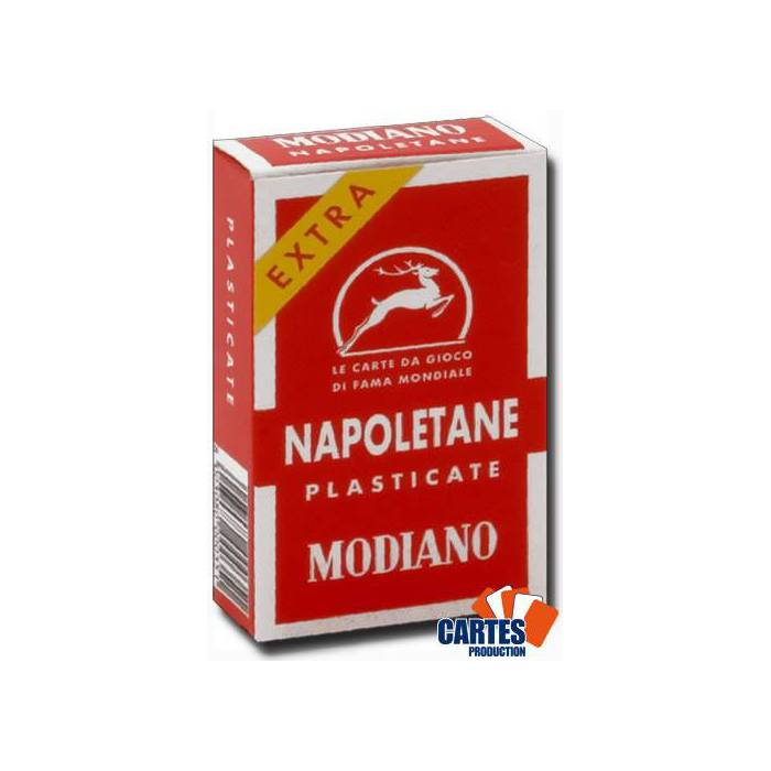 Modiano Napoletane - Jeu de Scopa de 40 cartes