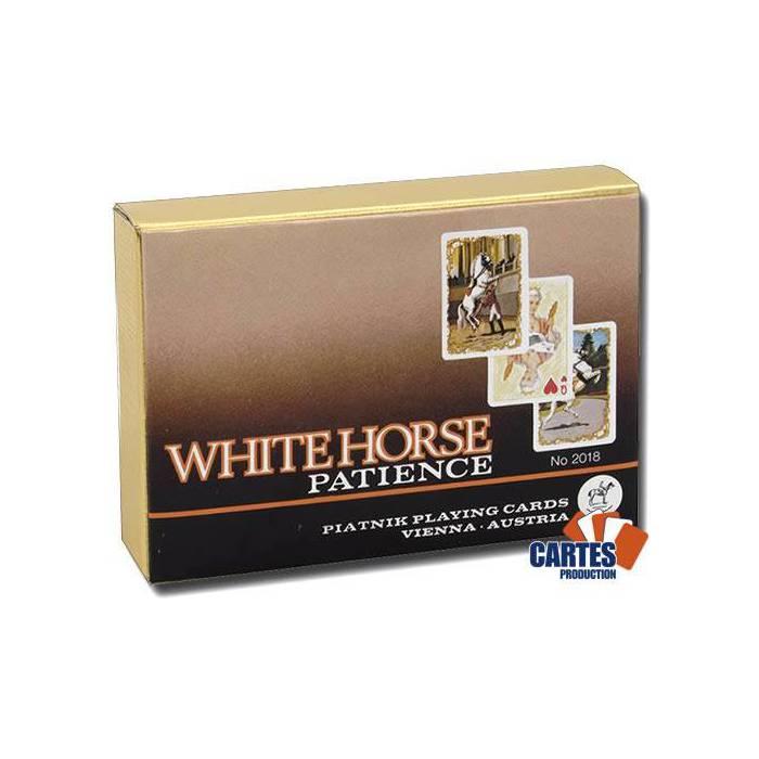Whitehorse Patience - 2 jeux de 52 cartes