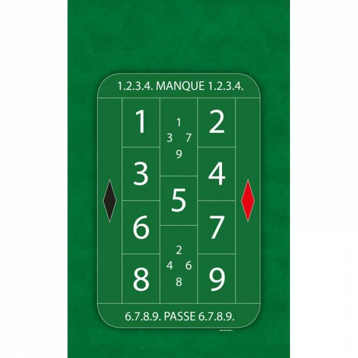 """Tapis de Jeu de """"LA BOULE"""" - 130 x 80 cm - jersey néoprène - 4 couleurs"""