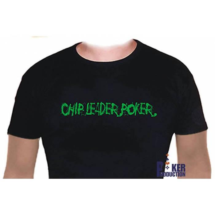 T-Shirt Noir : CHIPLEADER - Taille L