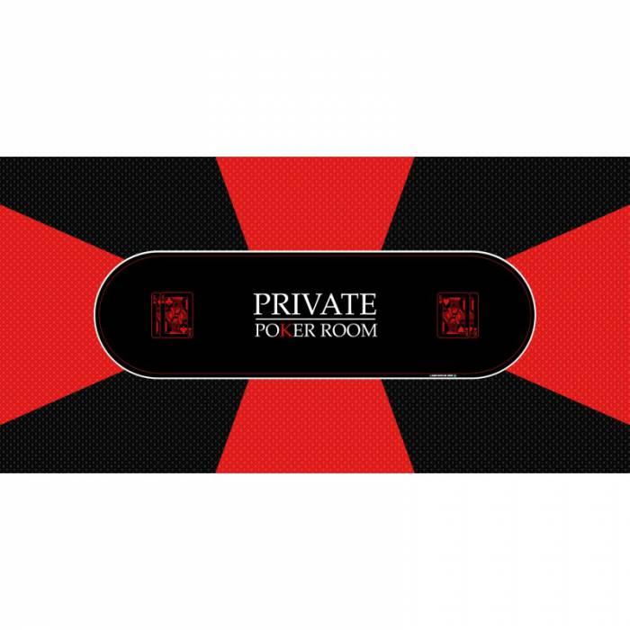 "Tapis de Poker ""Private Poker"" - rectangulaire"