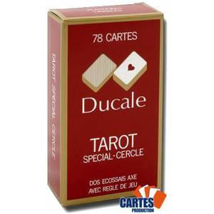 Tarot Ducale – jeu de 78 cartes cartonnées plastifiées – 4 index standards