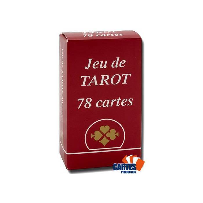Tarot Gauloise – jeu de 78 cartes cartonnées plastifiées – 4 index standards