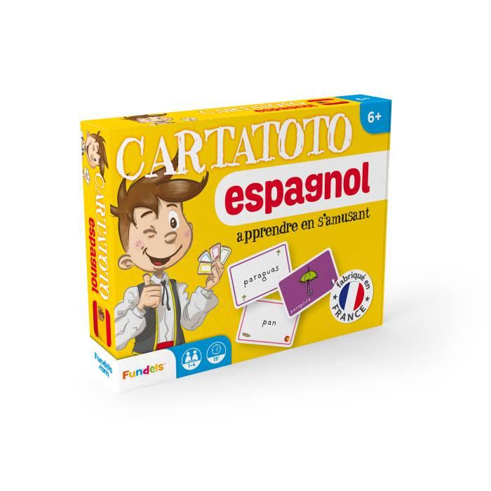 Cartatoto Espagnol – jeu de 110 cartes cartonnées plastifiées