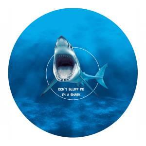 "Tapis de Poker ""Shark Evolution"" - rond - 130 cm - 0/8/10 joueurs - jersey néoprène"