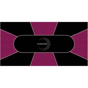 """Tapis de Poker """"Luna Pure Player"""" - rectangulaire - 8 places - 180 x 90 cm - jersey néoprène"""