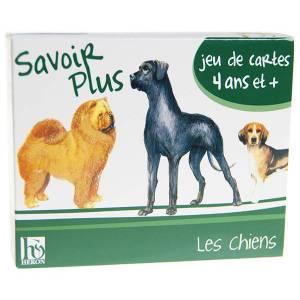 Jeu de mémoire : les chiens - 44 cartes cartonnées plastifiées