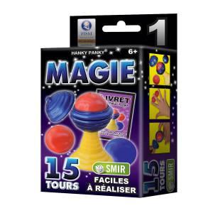 Petit Coffret Magie n°1 - 15 tours - un livret explicatif