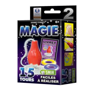 Petit Coffret Magie n°2 - 15 tours - un livret explicatif