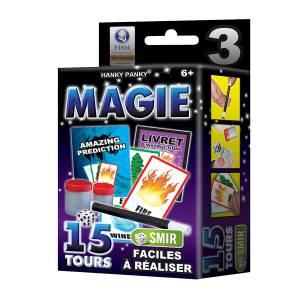 Petit Coffret Magie n°3 - 15 tours - un livret explicatif