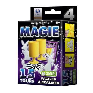 Petit Coffret Magie n°4 - 15 tours - un livret explicatif