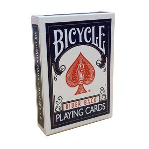 "Bicycle ""807"" - Jeu de 56 cartes toilées plastifiées – format poker – 2 index standards"