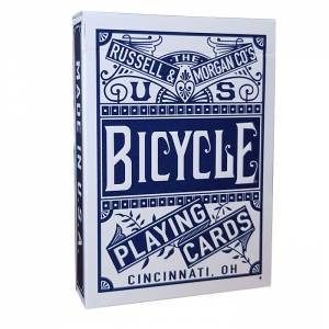 "Bicycle ""CHAINLESS"" - Jeu de 56 cartes toilées plastifiées – format poker – 2 index standard"