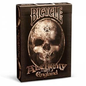 """Bicycle """"ALCHEMY II"""" - Jeu de 54 cartes toilées plastifiées – format poker – 2 index standard"""
