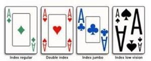 Index des jeux de cartes